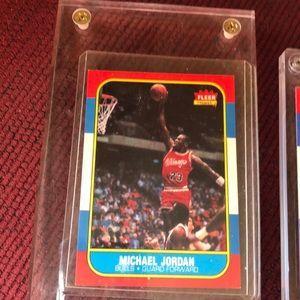 Fleer Michael Jordan Rookie card